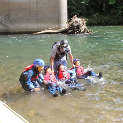 rafting kids