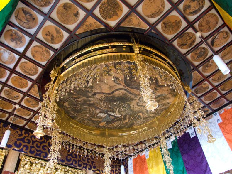 大仏寺天井画2